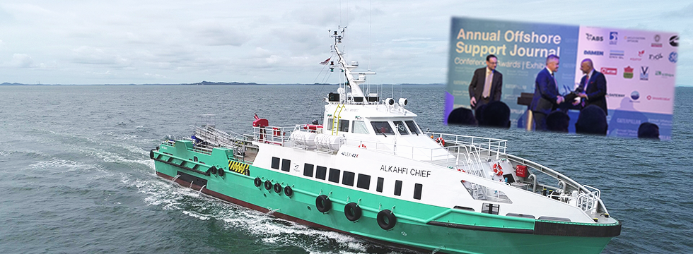 OSJ Support Vessel of the Year 2020